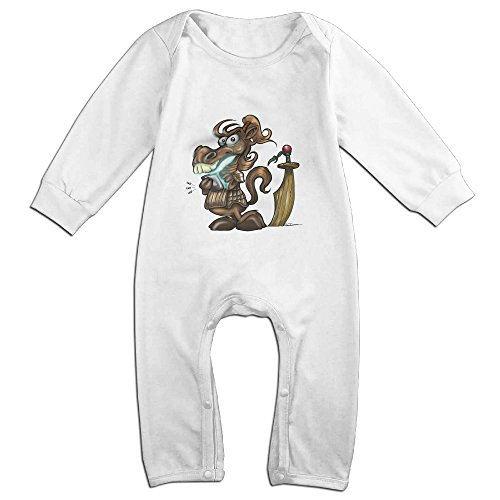 [Raymond Year Of Horsie Long Sleeve Jumpsuit Outfits White 18 Months] (Forrest Gump Kid Costume)