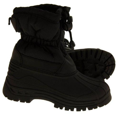 Footwear Studio , Jungen Stiefel Schwarz schwarz