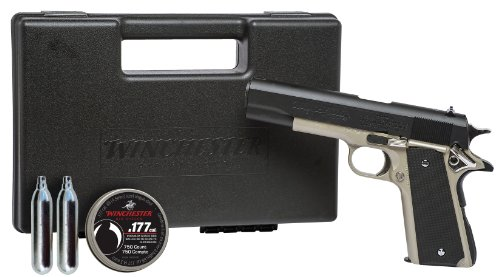 - Winchester Model 11K Semi Auto Pistol Air Gun Kit