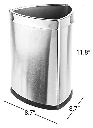 corner trash can - 2