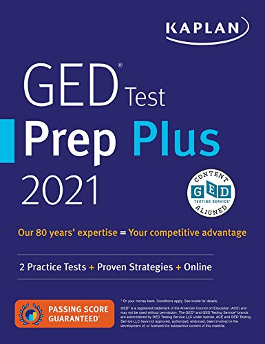 GED Test Prep Plus 2021: 2 Practice Tests + Proven