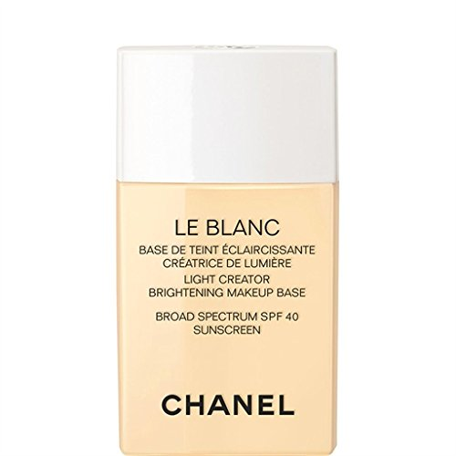 Leblanc De Chanel Sheer (CHANEL LE BLANC LIGHT CREATOR BRIGHTENING MAKEUP BASE BROAD SPECTRUM SPF 40 MIMOSA)