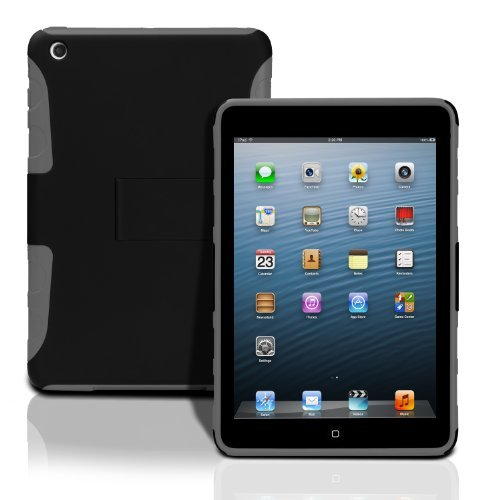 Photive Lightweight Hard Shell Case with Built in Stand for iPad Mini