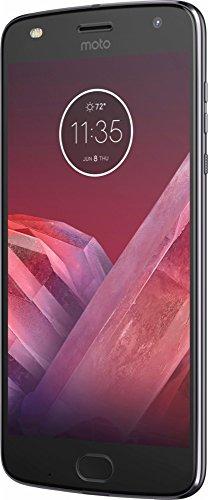 Motorola Moto Z2 Play XT1710-06 - 64GB Dual SIM 4G LTE Factory Unlocked (Dark Gray) - International Version (No Warranty)