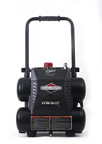 Briggs & Stratton 4.5-Gallon Quiet Power Technology Air Compressor 074045-00