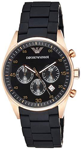 Emporio Armani Men's AR5905 Black Stainless Steel Watch