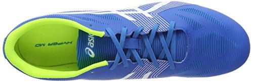 Asics Hyper Md 6 Unisex Voksne Atletik Fodtøj Blå (diva Blå / Hvid / Sikkerhed Gul) T4ORs1geu