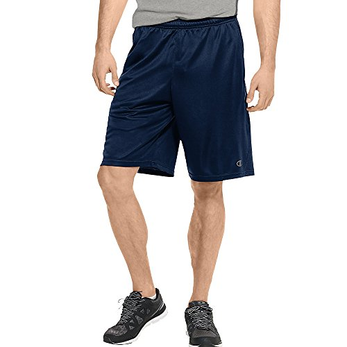 Champion Double Dry Training Short - Champion Men's Powertrain Double Dry Performance Short, Navy, Small