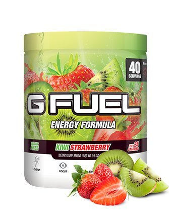 Gamma Labs G Fuel Dietary Supplement, Kiwi Strawberry, 280 Gram by GAMMA LABS
