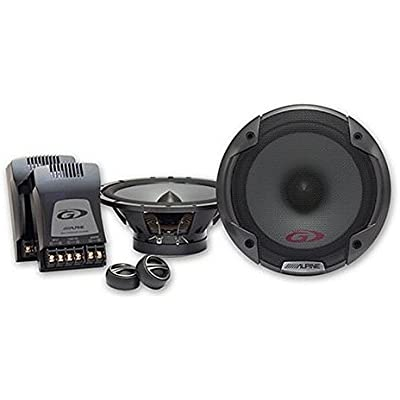 Alpine 2-Way Component Car Speaker System 300  Watt Skoda Octavia 04- ...