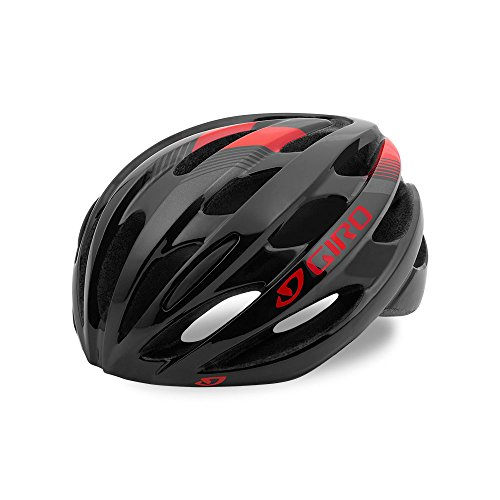 Giro Trinity Cycling Helmet Black/Bright Red Universal Adult (54-61 cm)