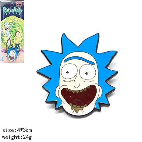 Rick Morty - Llavero con diseño de animación: Amazon.es: Hogar