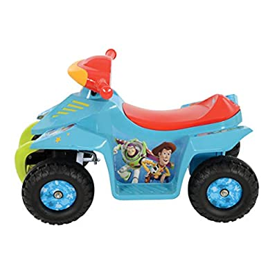 MV Sports Toy Story 6V Battery Operated Mini Quad Bike Blue Ages 2 Years+: Toys & Games