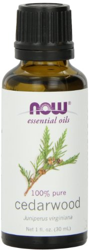 NOW Cedarwood Oil, 1-Ounce (Pack of 2) (Peppermint Able Shampoo)