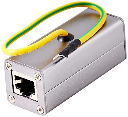 RiteAV - Outdoor Ethernet POE+/RJ-45 Surge Protector (Shielded) for Thunder & Lightning Protection (Gigabyte)
