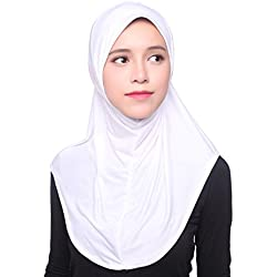 Daxin Muslim Women Inner Hijab Headscarf Cap Islamic Full Cover Islamic Hat