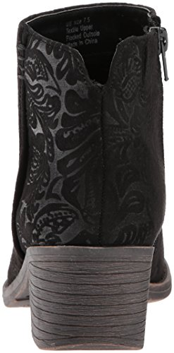 Volatile Womens Liya Fabric Pointed Toe Ankle Fashion Boots Black 9eppt2Ae