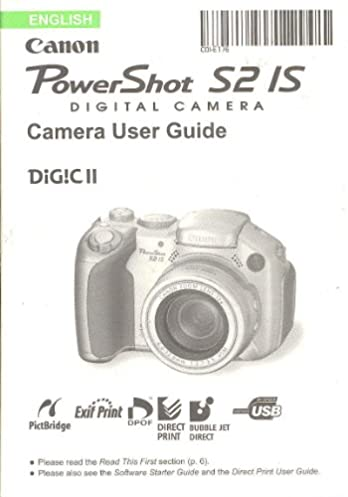 canon powershot s2 is original user guide instruction manual rh amazon com canon s2 is service manual canon powershot s2 is manual