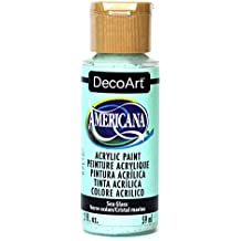 DecoArt Americana Acrylic Paint, 2-Ounce, Sea Glass