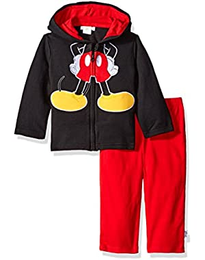 Baby Boys' Mickey Mouse Costume Hoodie and Pant Set
