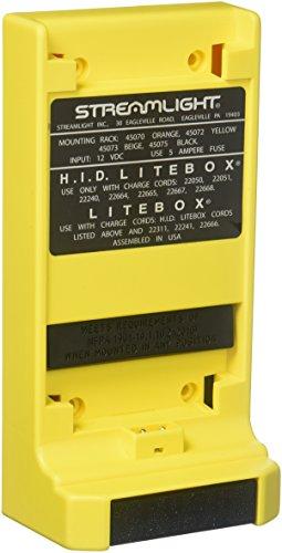 (Streamlight Litebox Mounting Rack, Yellow)