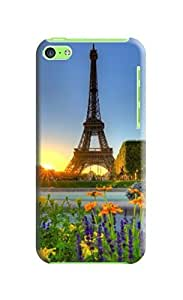love it.take it,iphone 5c Eiffel Tower Background image case cover #1