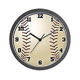 CafePress – Baseball – Unique Decorative 10″ Wall Clock For Sale