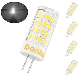 Bonlux Led G4 Light Bulb 120v 35w Equivalent Daylight