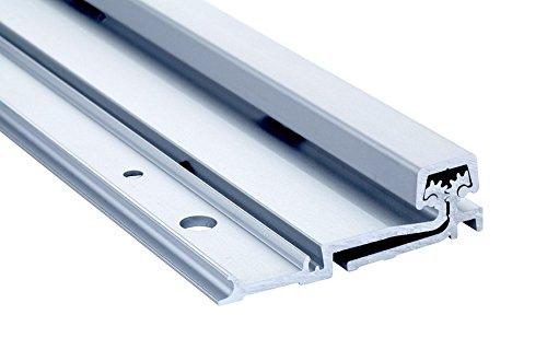 Continuous Geared door hinges 21 Series Full Surface Type in Aluminum Finish, Durable door hardware, shower hardware & door hinges by Rockwell