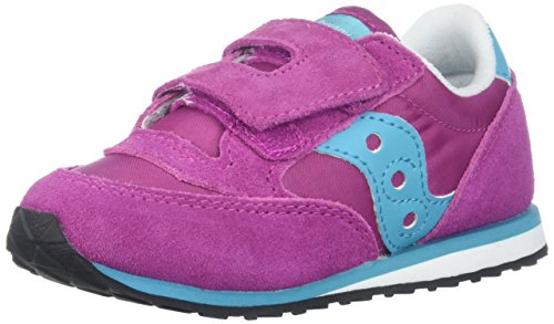 Saucony Kids Baby Jazz HL Sneaker Magenta Bl