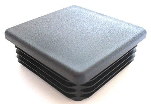 Pack quot round black plastic hole plug inch