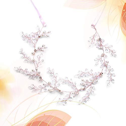 Bande De Cheveux Cristal Bandeau De Mariée Frcolor Accessoires Robe De Mariage Couvre-chef