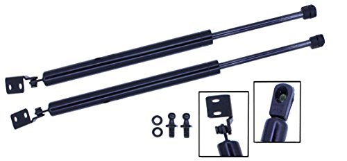 - 2 Pieces (SET) Tuff Support Hatch Lift Supports 1993 To 1997 Ford Probe Without Spoiler