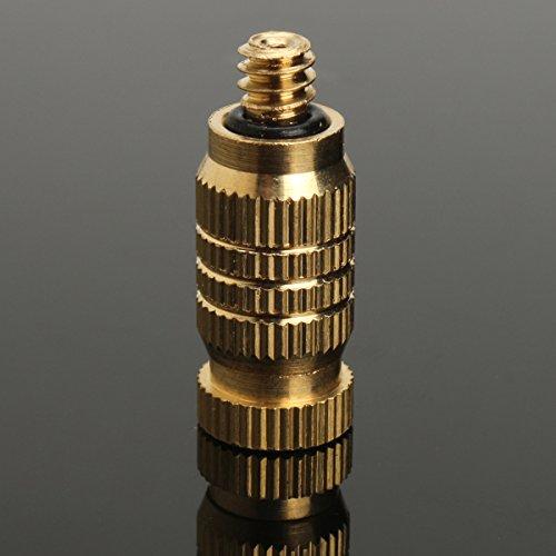 10Pcs 4mm Male Threaded Brass Misting Fogging Nozzle Spray Sprinkler Head Irrigation Cooling by Ologymart (Image #3)