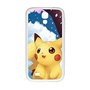 Cool painting Pokemon lovely Pikachu Cell Phone Case for Samsung Galaxy S4