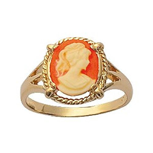 Cameo Gold Plated - 6