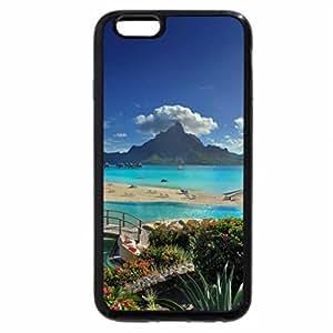 iPhone 6S Plus Case, iPhone 6 Plus Case, View of Bora Bora Island