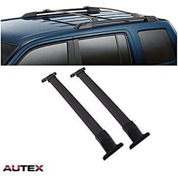 autex aluminum roof rack cross bar for 2011 2016 honda odyssey crossbars rooftop. Black Bedroom Furniture Sets. Home Design Ideas