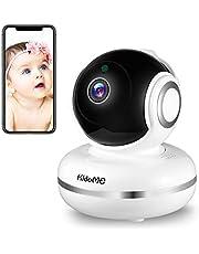 KidoME Caméra de Surveillance Baby Monitor Moniteur Numérique Sans Fil de Sécurité Vision Nocturne 2 Voies Audio Détection des pleurs Service Cloud Disponible Compatible avec iOS, Android