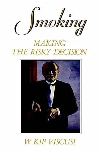 Smoking: Making the Risky Decision
