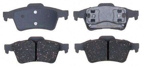 ACDelco 14D973C Advantage Ceramic Rear Disc Brake Pad Set