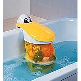 Babysun Nursery - Bolsa de malla para juguetes de baño, diseño de pelícano