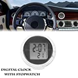 Car Watch Perfume Thermometer Clip with Quartz