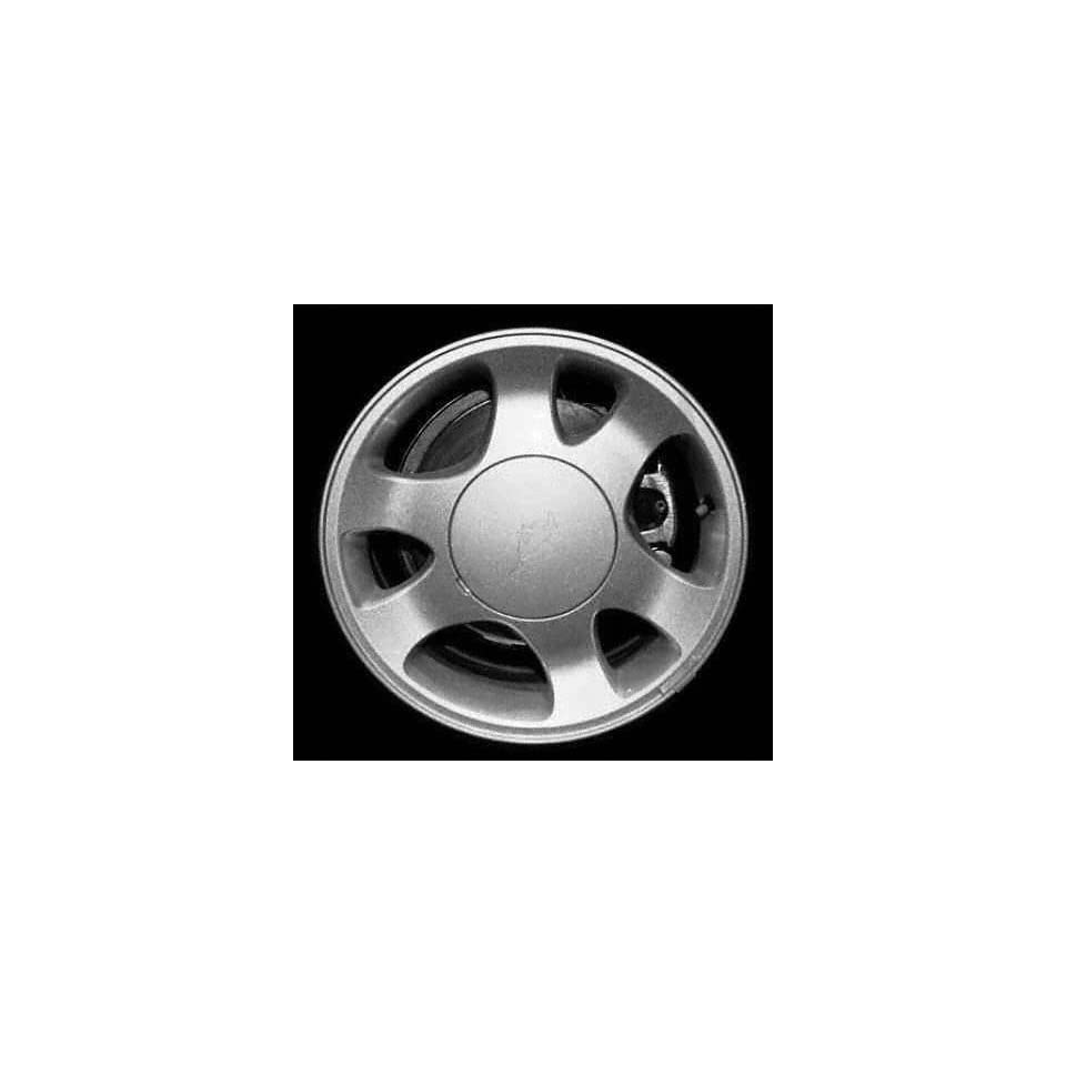 99 02 FORD MUSTANG ALLOY WHEEL RIM 15 INCH, Diameter 15, Width 7 (6 SPOKE), MEDIUM SILVER FACE, 1 Piece Only, Remanufactured (1999 99 2000 00 2001 01 2002 02) ALY03304U15