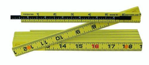 Wiha 61620 Outside Reading 6-Inch Depth Extension Long Life MaxiFlex Folding Ruler, 6-Foot ()