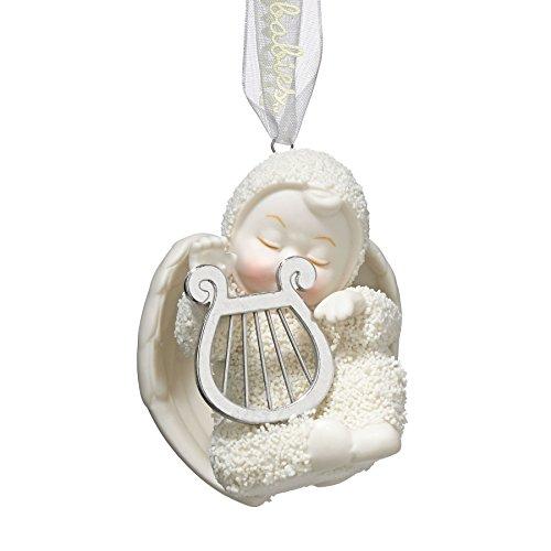 """Department 56 Snowbabies Ornaments - Department 56 Snowbabies """"Heavenly Music"""" Porcelain Ornament, 2.5"""""""