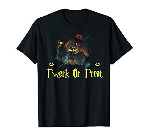 Funny Halloween Costume Ugly Twerk or Treat Shirt -