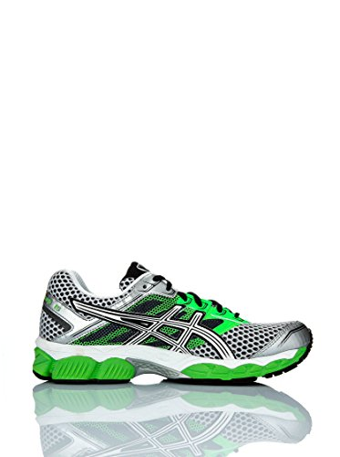 Asics Zapatillas Performance Gel-Cumulus 15 Verde / Negro / Blanco EU 40 (US 7)
