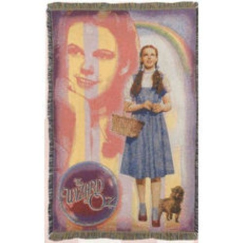 Wizard Of Oz Blankets - Mohawk Home Wizard of Oz Tapestry Throw Blanket