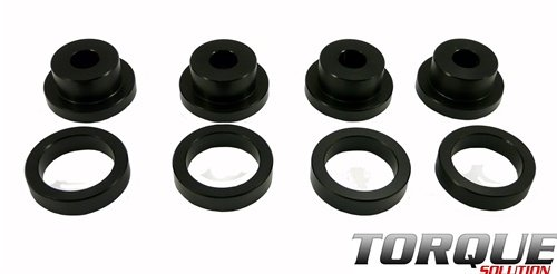 Torque Solution Drive Shaft Carrier Bearing Support Bushings: Mitsubishi Evolution 1992-14 (Shaft Bushing Propeller)